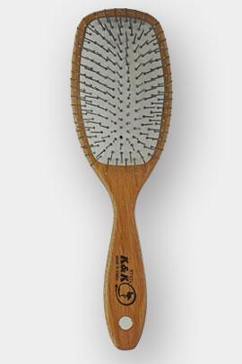 برس مو تخت چوبی مربع دانه سیمی با سر متوسط